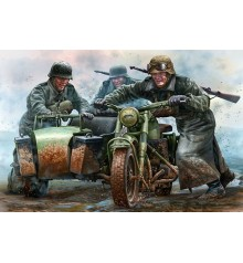 German Motorcyclists, WWII - 35178