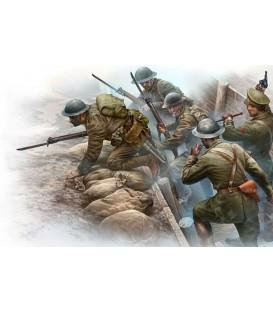 Infanteria Britanica abans de l'atac - 35114