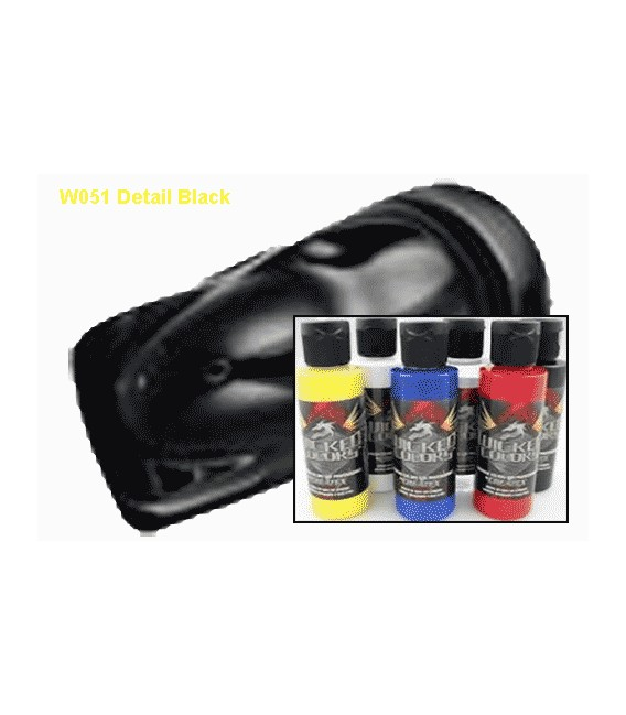 COLOR WICKED W051 NEGRO DETAIL (60 ml.)