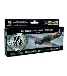 "Set Vallejo Model Air 8u. 17 ml. RAF Colors""Battle of Britain"""