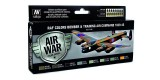 Set Vallejo Model Air 8u. 17 ml. RAF Colors Bomber & Training