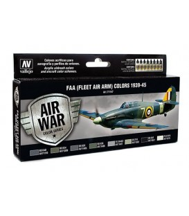 Set Vallejo Model Air 8u. 17 ml. FAA (FLEET AIR ARM)1939-1945