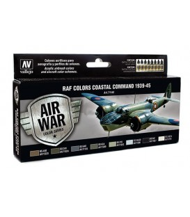 Set Vallejo Model Air 8u. 17 ml. RAF Colors Coastal Command