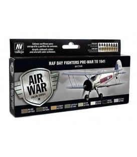Set Vallejo Model Air 8u.17 ml. RAF Day Fighters Pre-War to 1941