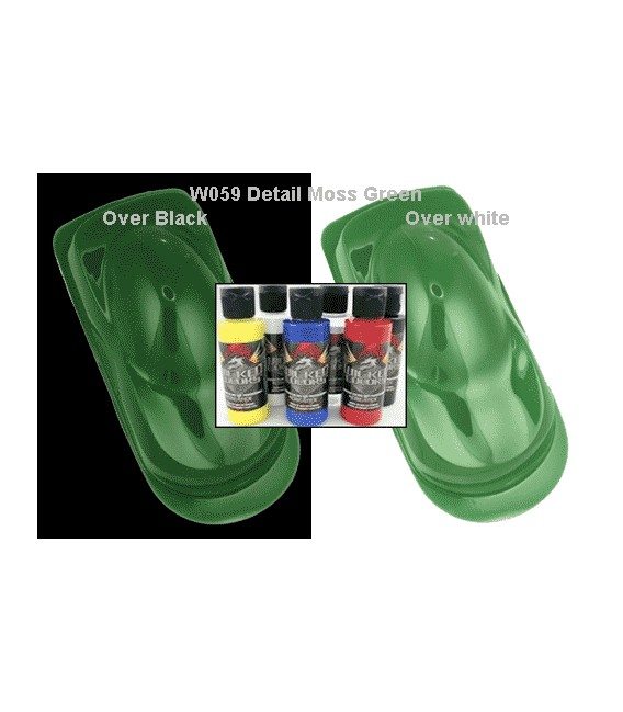 WICKED COLOR W059 DETAIL MOSS GREEN (60 ml.)