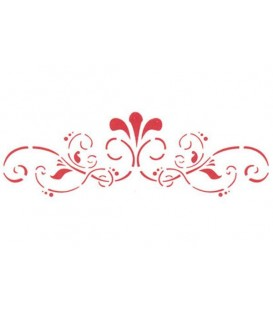 Plantilles - Stencils 38x15 Thin Border KSB125