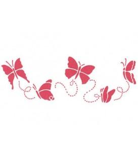 Plantilles - Stencils 38x15 Butterflies KSB123