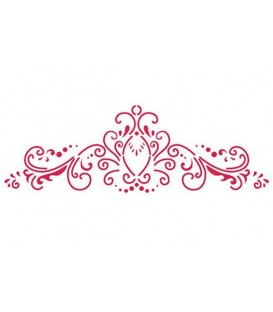 Plantilles - Stencils 38x15 Classic Decoration KSB157