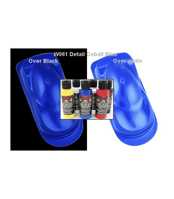 WICKED COLOR W061 DETAIL COBALT BLUE (60 ml.)