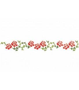 Plantilles - Stencils 60x7 Roses KSE161