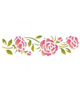 Stencils 60x7 Roses KSE103