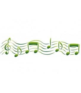 Plantilles - Stencils 60x7 Music KSE90