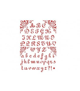 Plantilles - Stencils 21x29,7 Alphabet 2 KSG26
