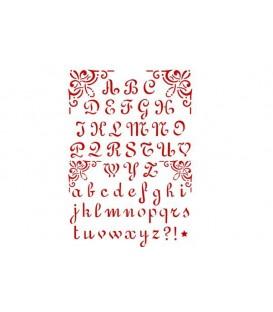 Stencils 21x29,7 Alphabet 2 KSG26