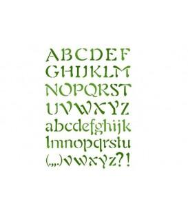 Plantilles - Stencils 21x29,7 Alphabet 3 KSG27