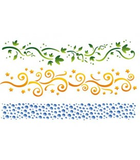 Plantilles - Stencils 21x29,7 Bordure KSG109