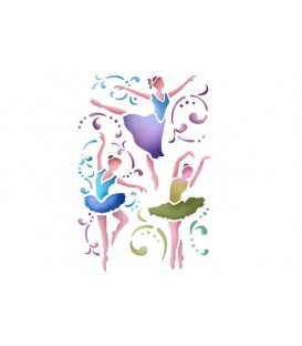 Plantilles - Stencils 21x29,7 Dancer KSG194