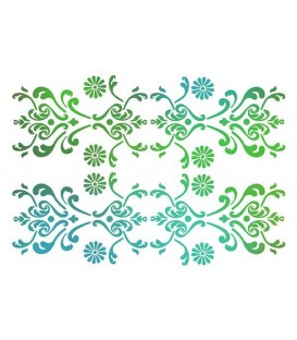 Plantillas - Stencils 21x29,7 Wall paper KSG259