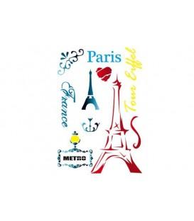 Plantillas - Stencils 21x29,7 Paris KSG288