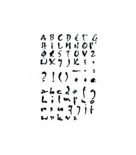 Stencils 21x29,7 Alphabet KSG292