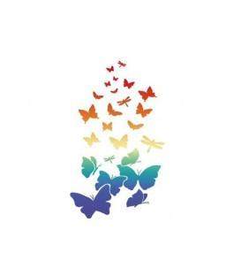 Plantillas - Stencils 21x29,7 Butterflies KSG318