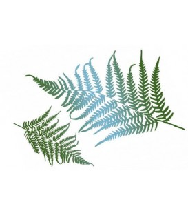 Plantillas - Stencils 21x29,7 Fern leaves KSG325