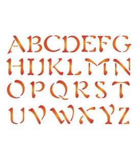 Stencils 15x20 Alphabet KSD67