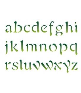 Plantilles - Stencils 15x20 Alphabet KSD68