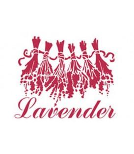 Plantilles - Stencils 15x20 Lavender KSD159