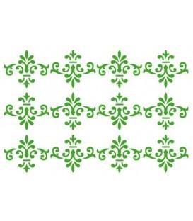 Plantilles - Stencils 15x20 Swirls texture KSD213