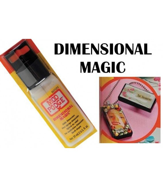 Resina de Volum Mod Podge Dimensional Magic 59 ml.