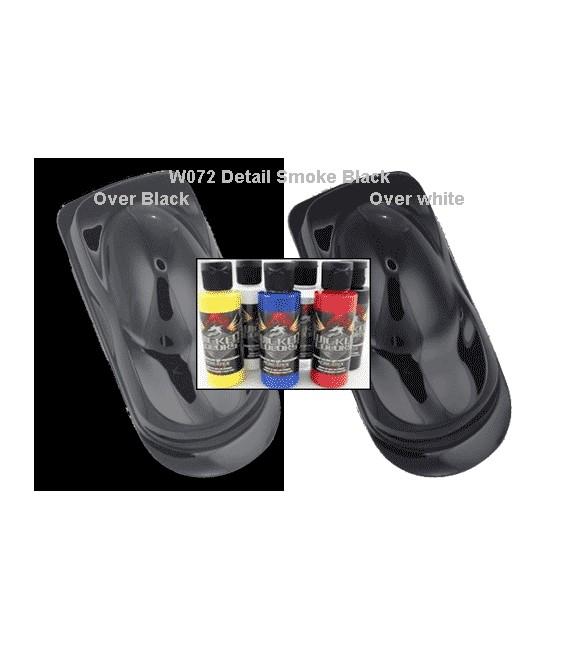 WICKED COLOR W072 DETAIL SMOKE BLACK (60 ml.)