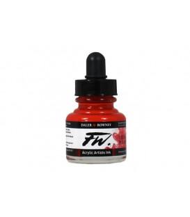 e) 517 Vermell de Foc FW Artists Acrylic Ink Daler Rowney 29.5 m