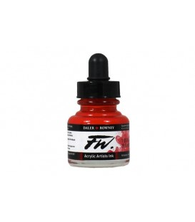 517 Rouge Flamme FW Artists Acrylic Ink Daler Rowney 29.5 ml.