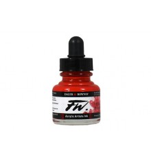 517 Flame Red FW Artists Acrylic Ink Daler Rowney 29.5 ml.