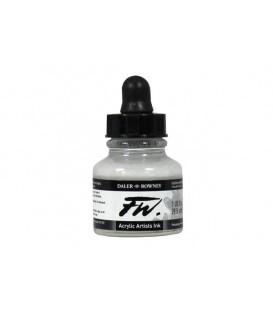 a) 011 Blanco FW Artists Acrylic Ink Daler Rowney 29.5 ml.