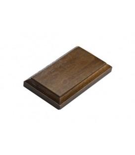 16x9 cm. Rectangular Wood Bases