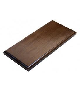 38,5x17,5 cm. Bases de Madeira Rectangulares