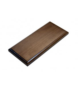 31,5x14,5 cm. Rectangular Wood Bases
