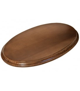38x23 cm. Oval Wood Bases