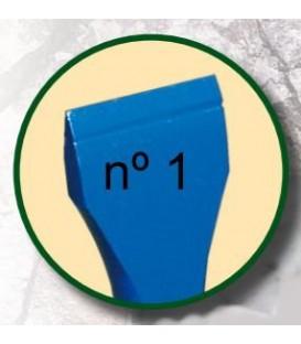 a) Cincel para escultura de 4 mm