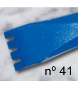 d) Gardina de dent plana per a escultura de 20 mm. 4 d.