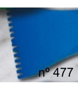 e) Gradina de diente plano para escultura de 40 mm. 14 d.