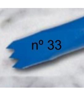 a) Gardina dent americana per a escultura de 10 mm. 3 d.