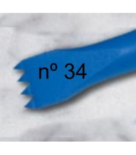 b) Carving american teeth chisel 15 mm. 4 t.