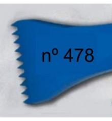d) Gardina dent americana per a escultura de 40 mm. 10 d.