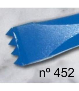 c) Gradina gruesa diente americano para escultura de 20 mm. 4 d.
