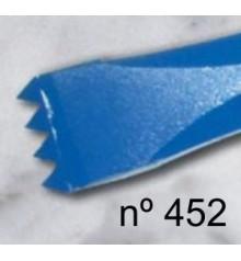 c) Gradine dent americain renforce pour sculpture de 20 mm. 4 d.