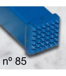 a) Carbide bush chisel smooth 12x12 mm. 6x6 t.