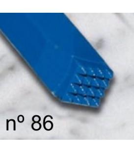 b) Carbide bush chisel smooth 8x8 mm. 4x4 t.
